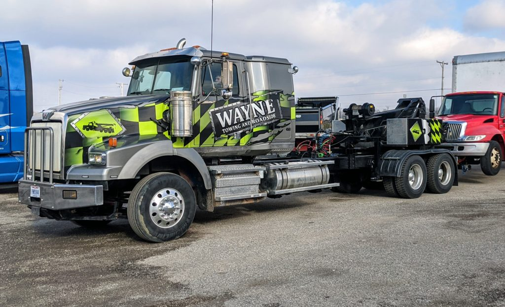 Heavy Duty Truck Towing Semi Truck Towing Dayton Ohio Lima Ohio
